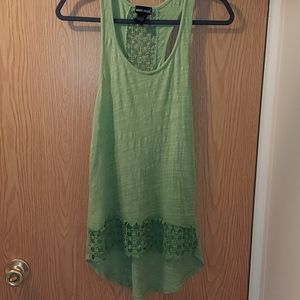 Wet seal lacey tank top